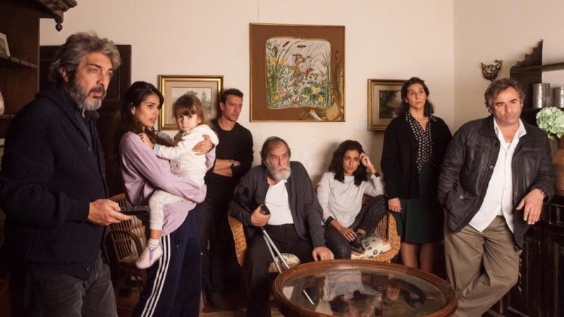 Which Italian-Spanish- French co-production discloses all the secrets and lies of a Spanish family?