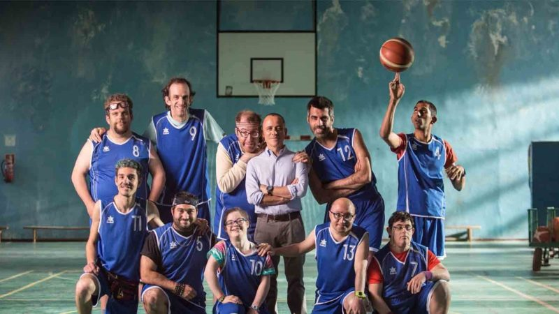What 2018 film talks about diversity and inclusion, with a basketball team made up of people with disabilities as main characters?