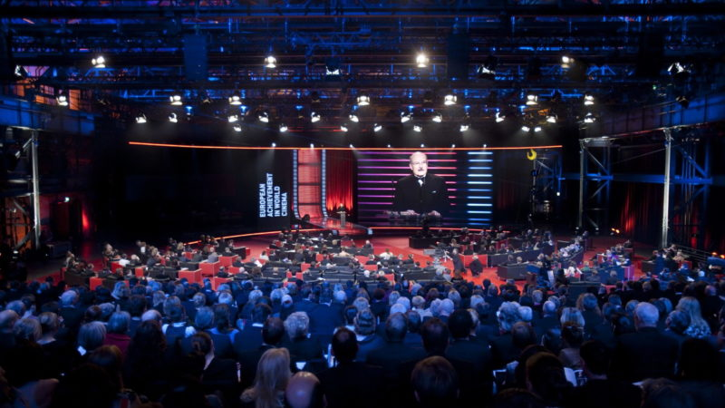 Which German city has never hosted the European Film Awards?