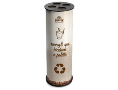 Eurven r cups impilatore bicchieri caff e raccolta for Bicchieri caffe