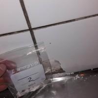 Insinööritoimisto K. Parila Oy - asbesti keittiön laatoituksen saumauslaastissa.jpg