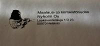 Maalaus- ja Kiinteistöhuolto Nyholm Oy