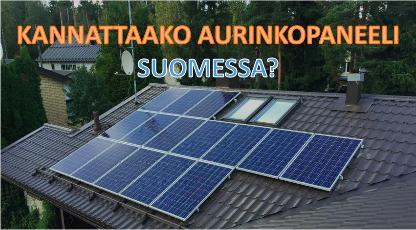 Aurinkopaneeli Suomessa