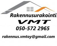 Rakennusurakointi VMT Oy