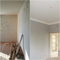 Tammijuuri - Makuuhuone ennen ja jälkeen.jpg