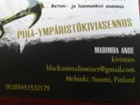 PIHA-YPÄRISTÖKIVIASENNUS MADIMBA