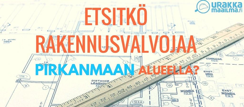 Rakennusvalvonta Tampere Pirkanmaa