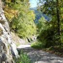 Zufahrtsweg zur Hütte