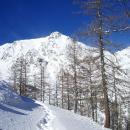 La valle d'inverno