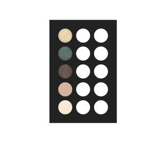 2 eye shadow palette 5 col 20