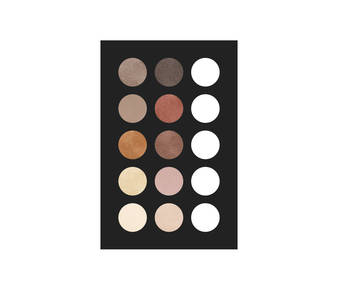 1 eye shadow palette 10 col 20