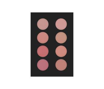 1 fard palette 8 col 30