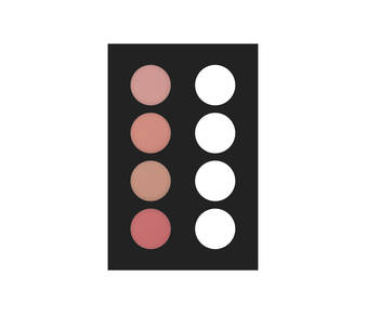 1 fard palette 4 col 20