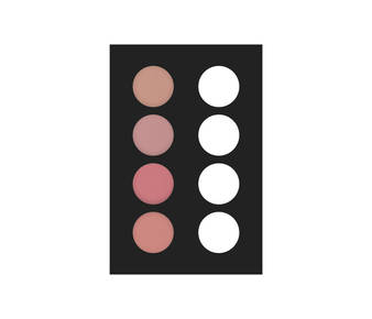 2 fard palette 4 col 20