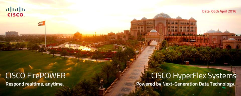 Introducing Cisco HyperFlex and ASA Firepower - Eventboost