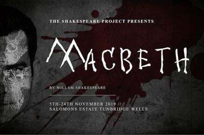 Macbeth 2019 - Thursday 21st November (MATINEE) ONLY A FEW TICKETS LEFT