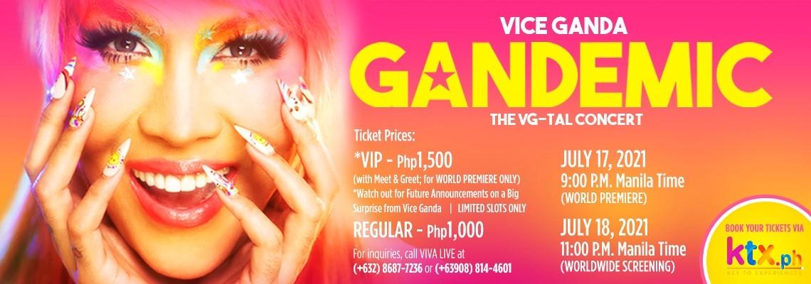 Gandemic Vice Ganda: The VG-Tal Concert