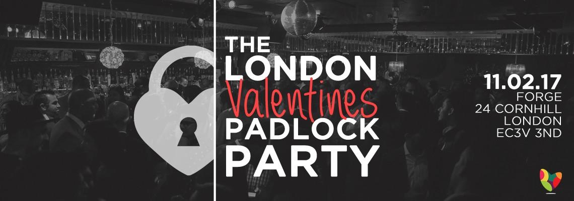 The London Valentines Padlock Party