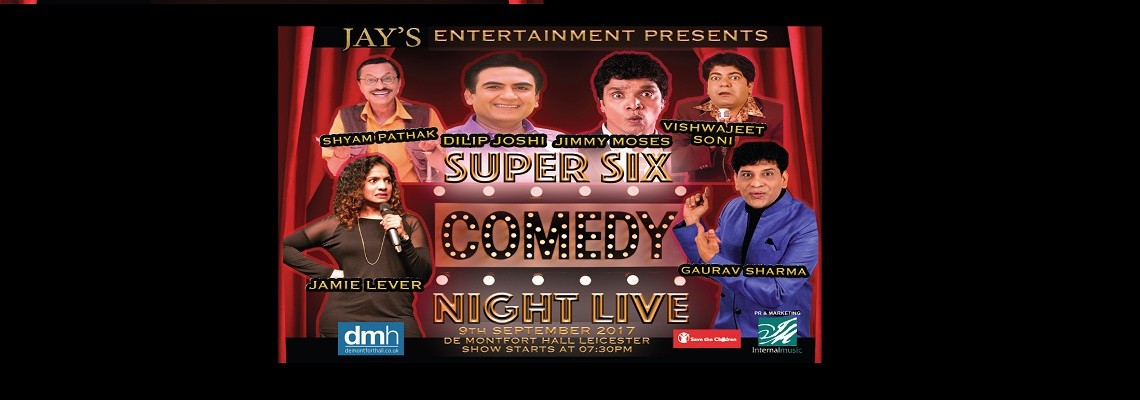 Super Six Comedy Night Live in London
