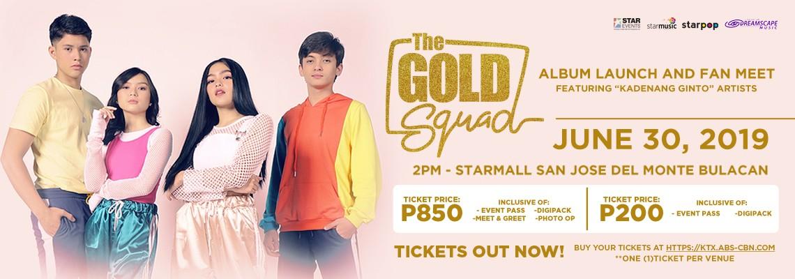 The Gold Squad Album Launch: Starmall San Jose Del Monte Bulacan