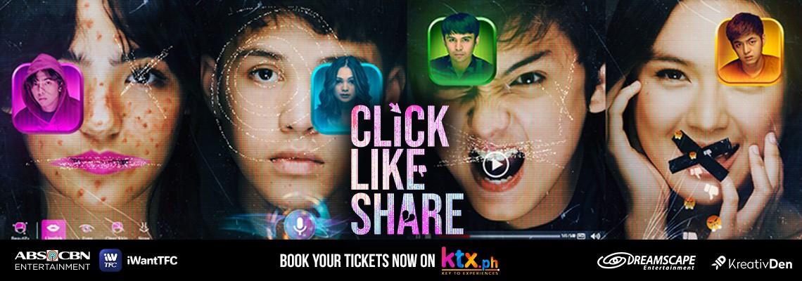 Click Like Share