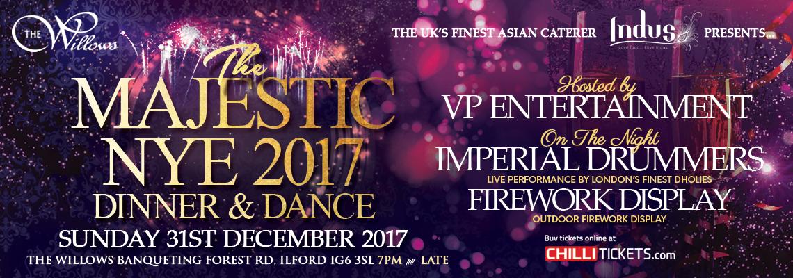 The Majestic NYE 2017 DInner & Dance