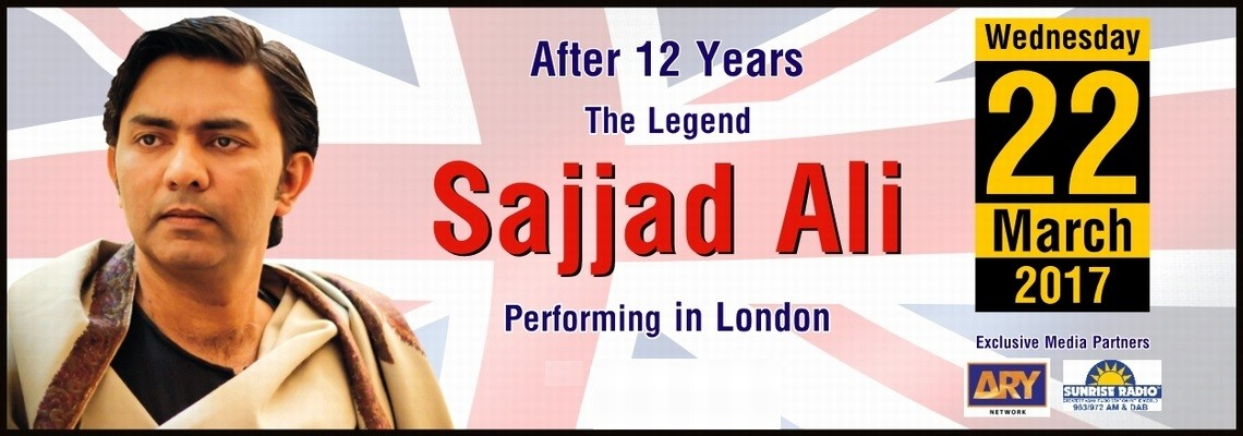 After 12 years The Legend '' SAJJAD ALI '' Live in London
