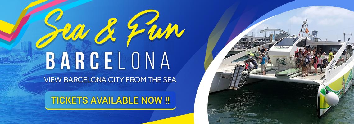 Explore Barcelona from the sea - (Sea & Fun Barcelona)