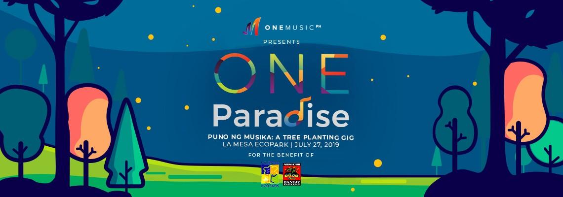 One Paradise Puno ng Musika: A Tree Planting Gig