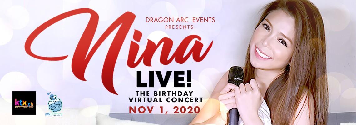 Nina Live: The Birthday Virtual Concert