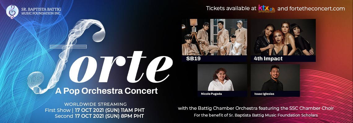 Forte: A Pop Orchestra Concert with SB19 and 4th Impact
