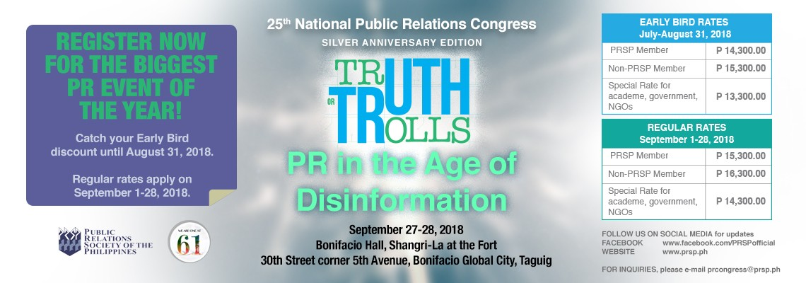 Truth or Trolls: PR in the Age of Disinformation