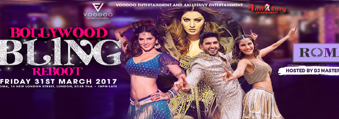 Tickets to Asian events  Bollywood concerts  amp  nightlife  Latest      Bollywood Bling Reboot
