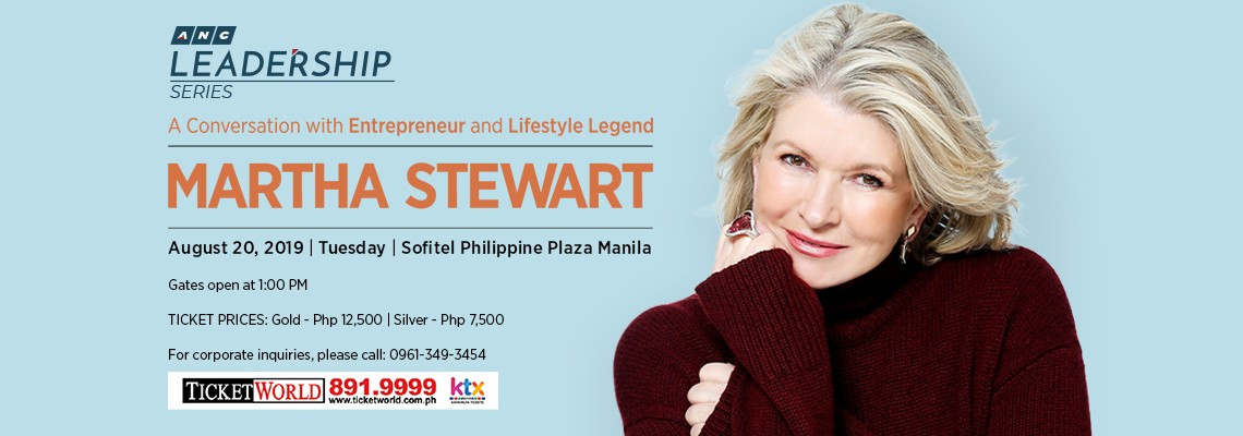 ANC Leadership Series: A Conversation with Entrepreneur and Lifestyle Legend Martha Stewart