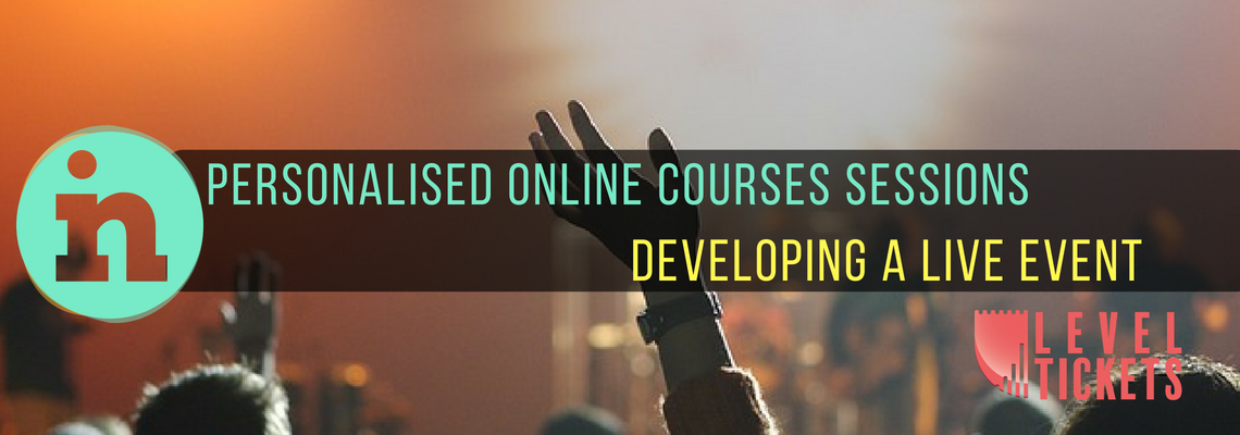 INfocus Online Courses  - Developing a Live Event