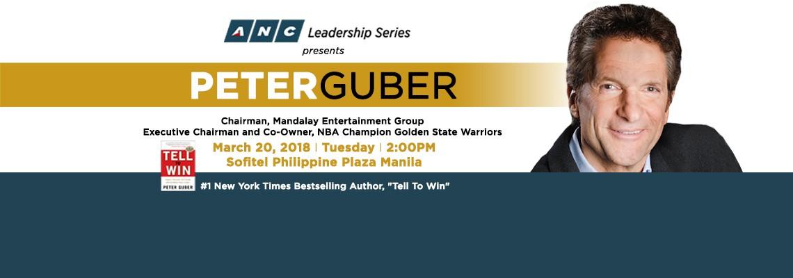 ANC Leadership Series presents Telling Stories, Winning Games Peter Guber