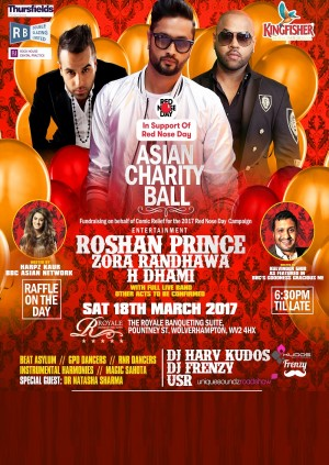 The Comic Relief Asian Charity Ball 2017