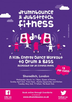 Drum'n'Bounce fitness class