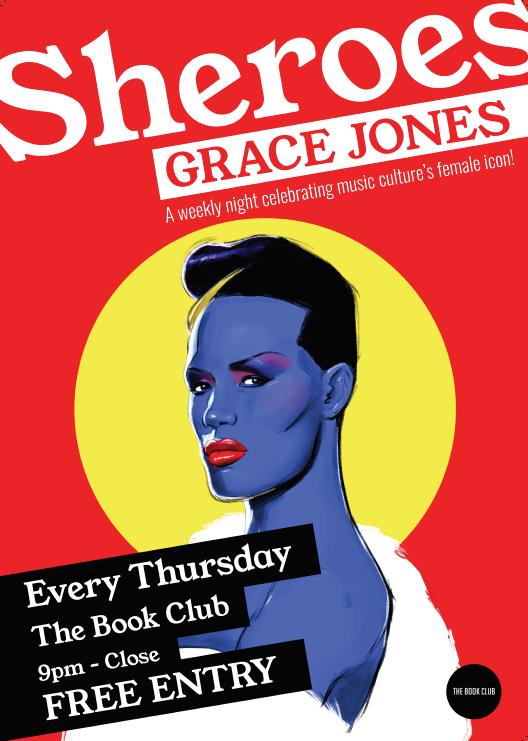 Sheroes: Grace Jones – Every Thursday in October