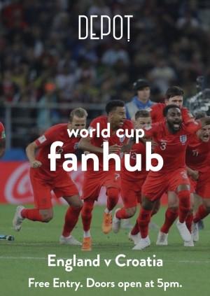 DEPOT FANHUB:  England v Croatia