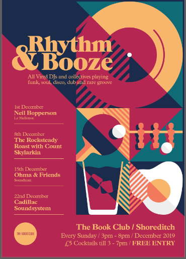 Rhythm & Booze - Free Vinyl Session Every Sunday