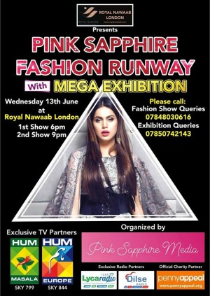 Pink Sapphire Fashion Runway with Mega Exhibition
