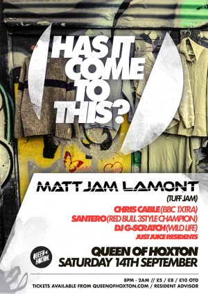 Has it Come to This! w/ Matt Jam Lamont (Tuff Jam)