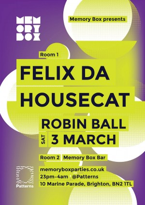 Memory Box with Felix Da Housecat