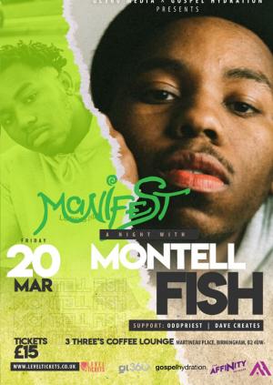 [POSTPONED] Montell Fish U.K. Debut - BIRMINGHAM