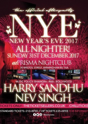 The Offical After Party: NYE ALL NIGHTER!! AT PRISMA NIGHCLUB