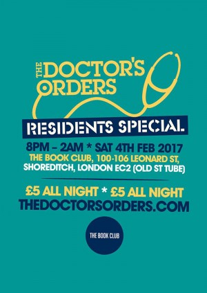 The Doctor's Orders - Residents Special