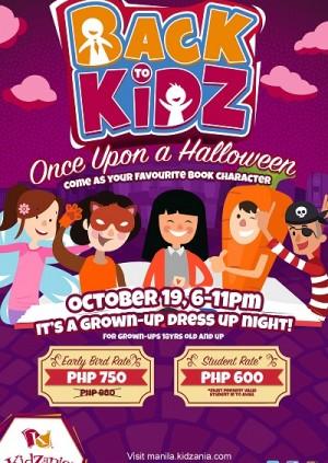 Back to KidZ Halloween 2018