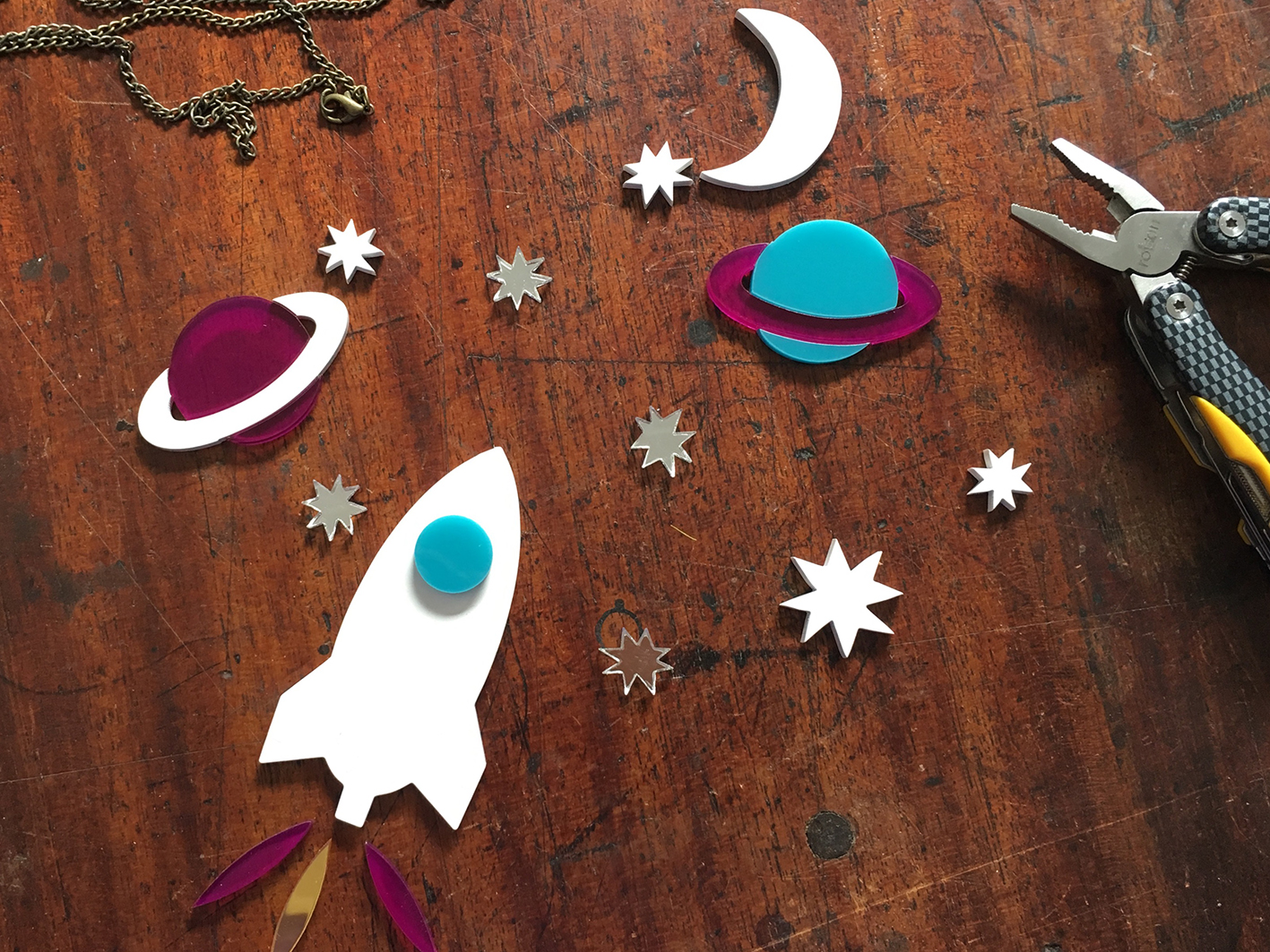 Make Good: Perspex Jewellery