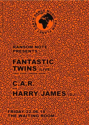 Fantastic Twins (live) + C.A.R + Harry James